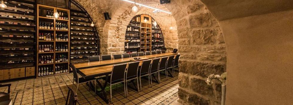 Wine Temple in the Templar's Cellar