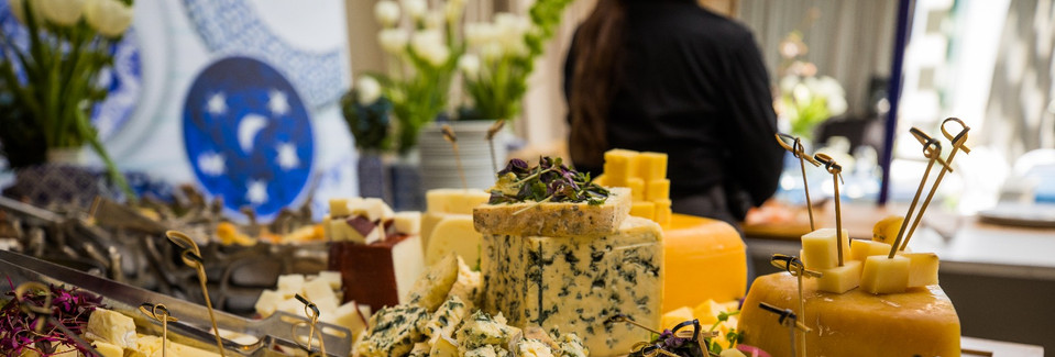 boutique cheese stand at OLMAYA