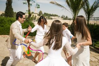 Bat Mitzvah family dances