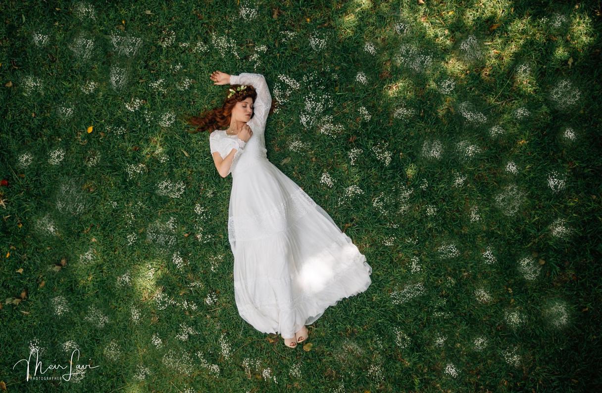 Bride in Israeli Nature