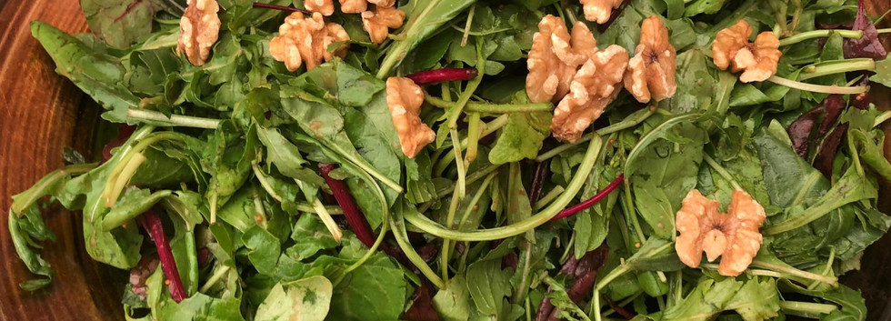 Salad at Harp of David