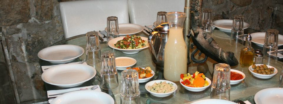 Israeli cuisine at Between the Arches