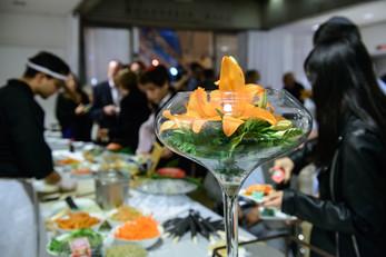Rich buffet by Cezanne at Beit Shmuel