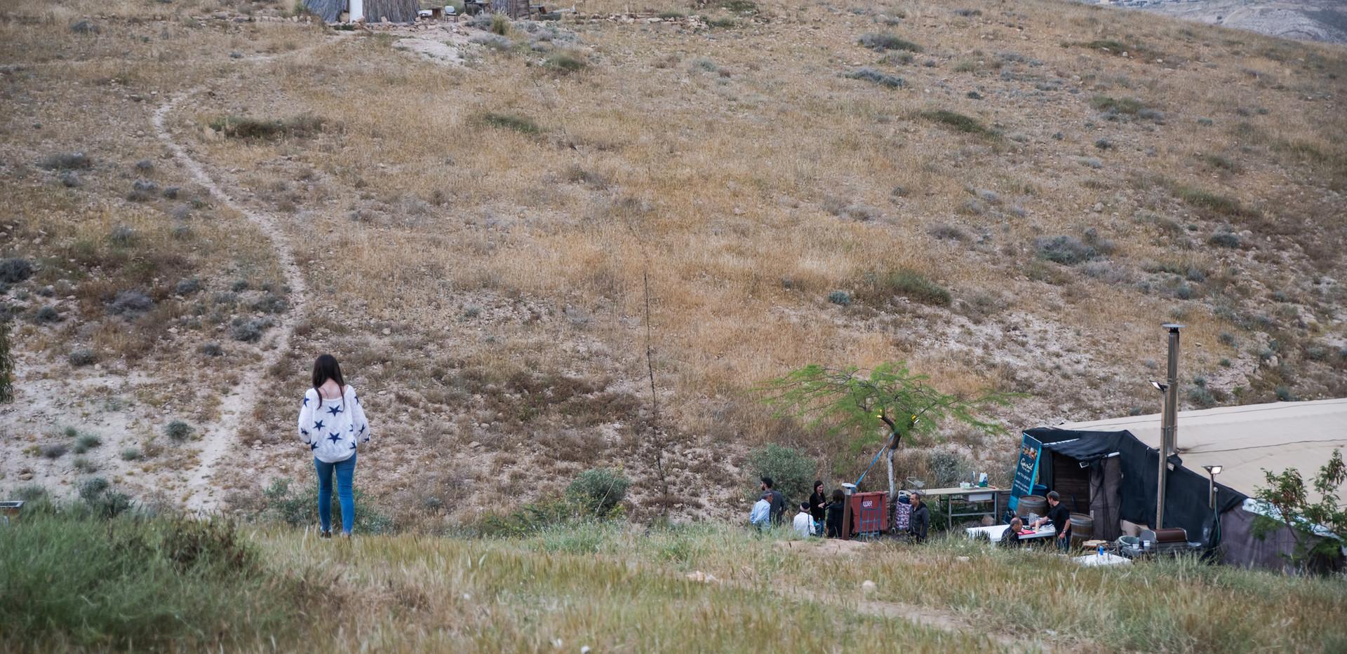 The Judean Desert Scene