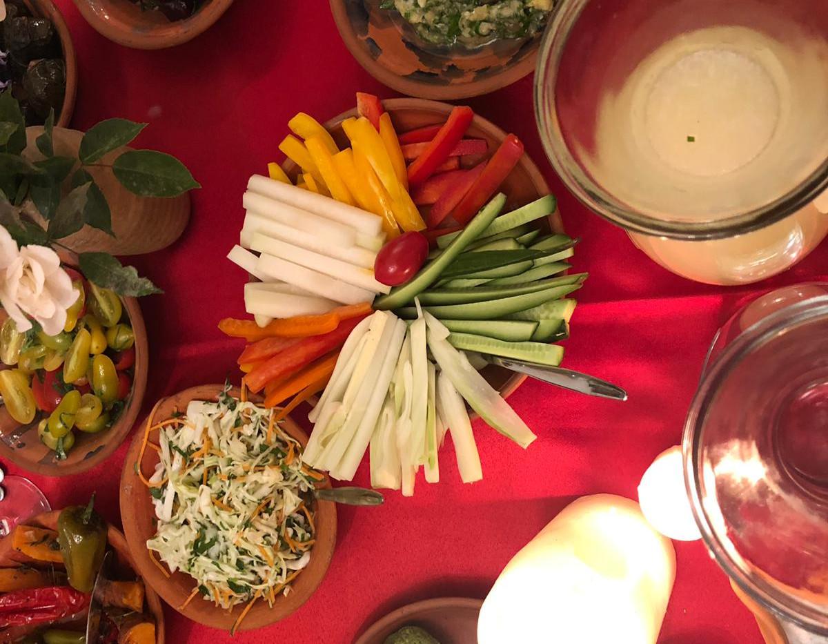 Food at Harp of David