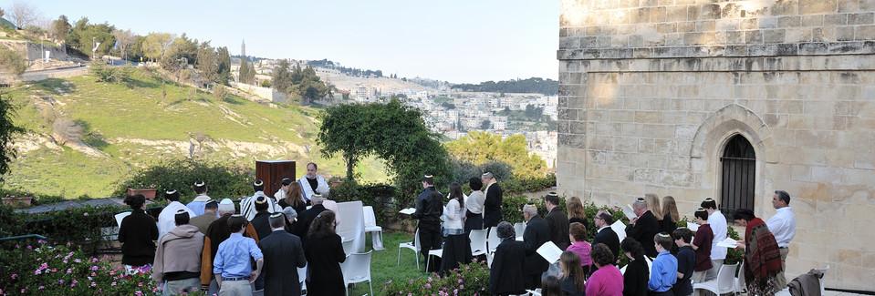 Mt Zion Hotel Bar Mitzvah next to the Villa
