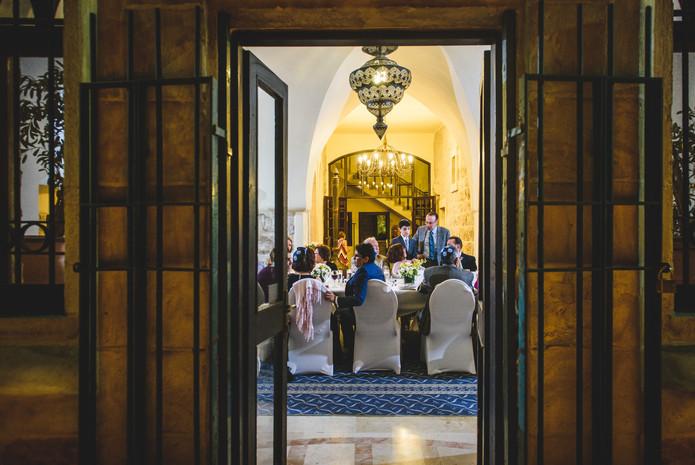 Bar Mitzvah in the Mt. Zion Hotel Villa