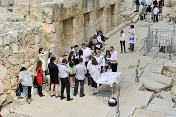 Bar Mitzvah at Kotel
