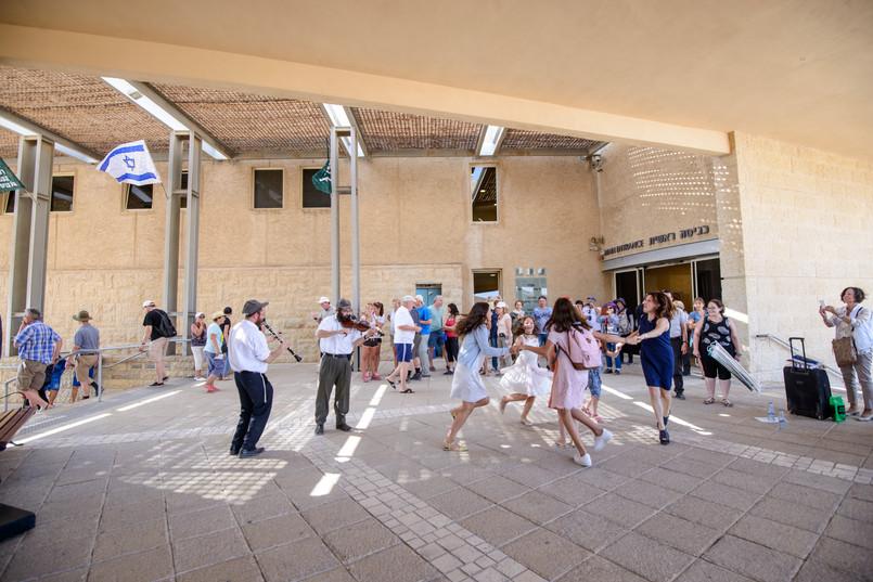 Horah Dancing Under Masada