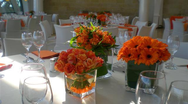 Table Decor at Beit Shmuel