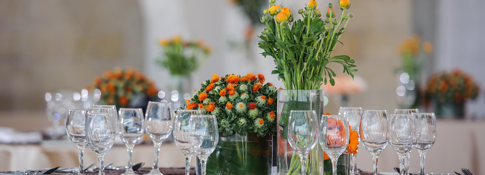 Table setting at Beit Shmuel