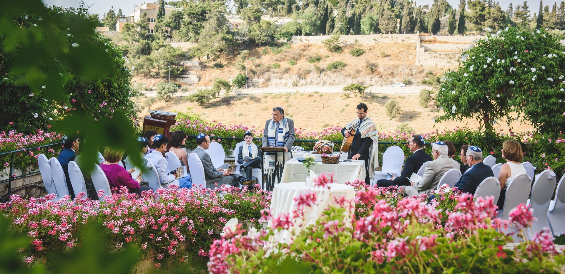 Beautiful Bar Mitzvah Mt Zion