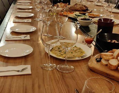 Wine Temple Event Set Up