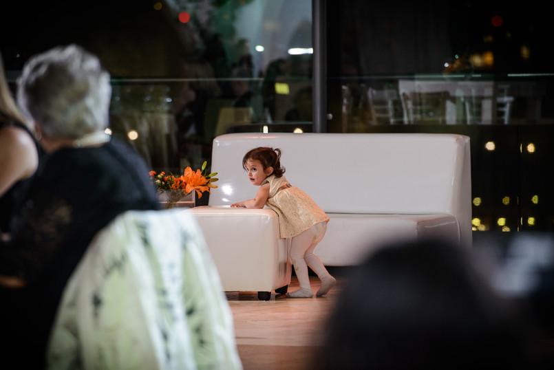 Cute Child at Bar Mitzvah