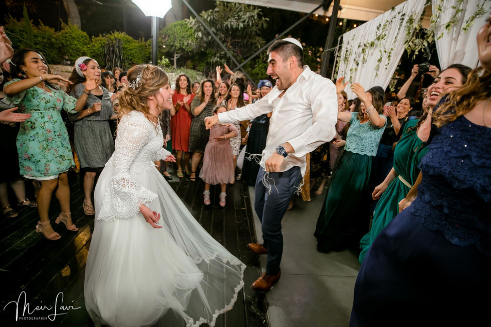 Bride & Groom Dance in Israel