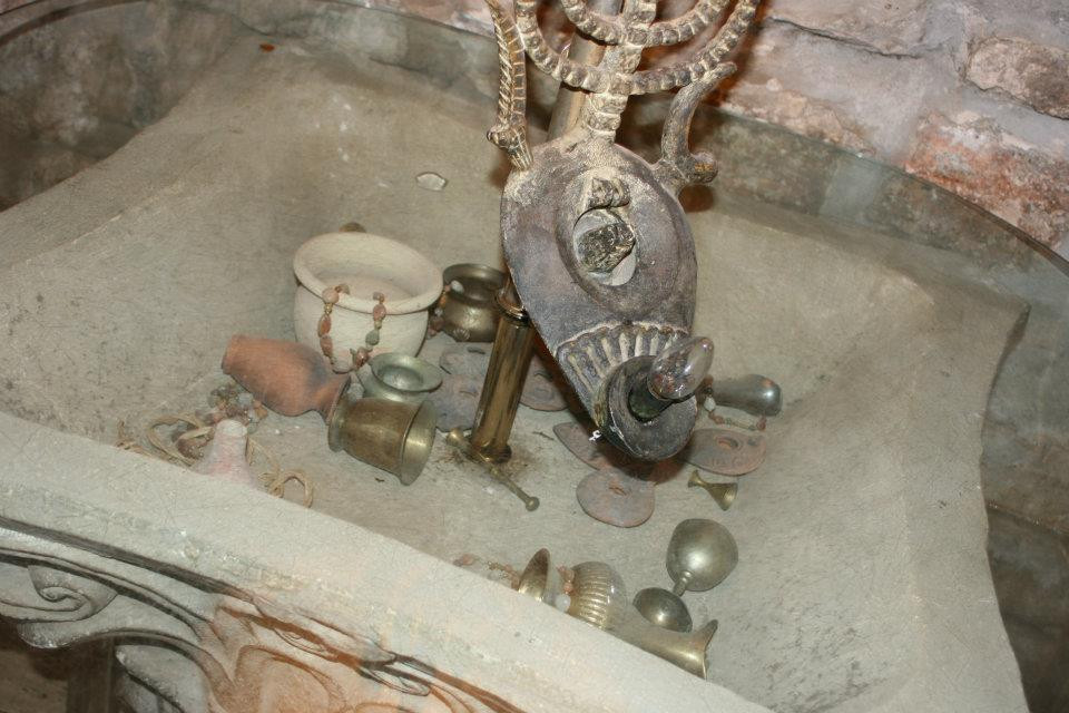 Table of Artifacts at Between the Arches