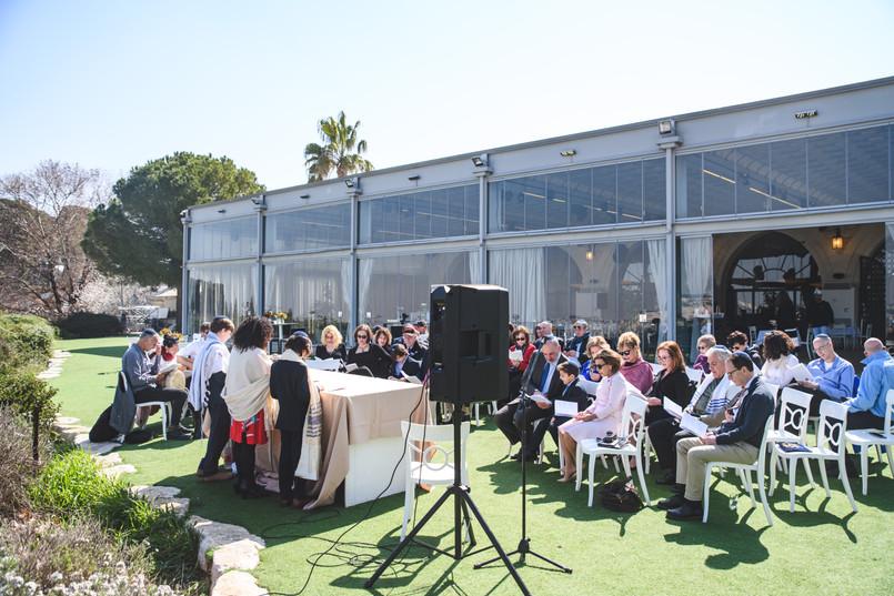 20200217-11Bnai Mitzvah Ceremony at Olmaya at the Haas Promenade overlooking Jerusalem