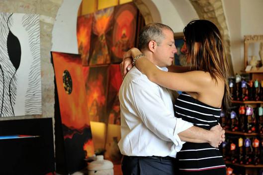 Parents at Bar Mitzvah Dance