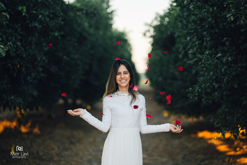 Bride in Israel