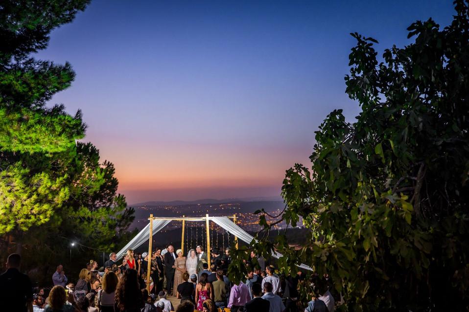 Sunset Chuppah in Israel