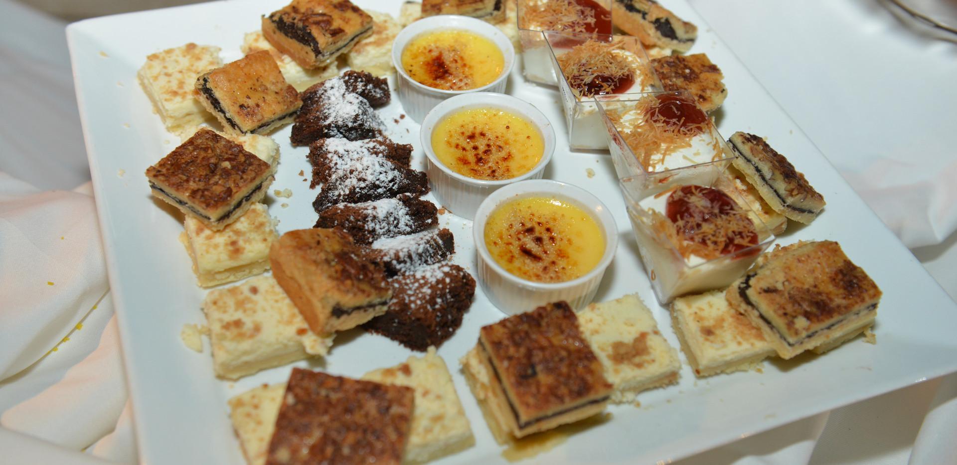 Dessert at Terasa