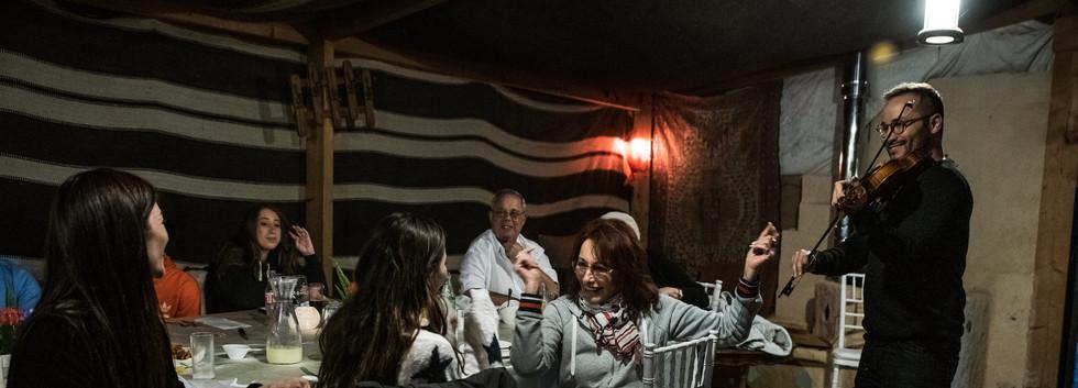 Music in the Bedouin tent