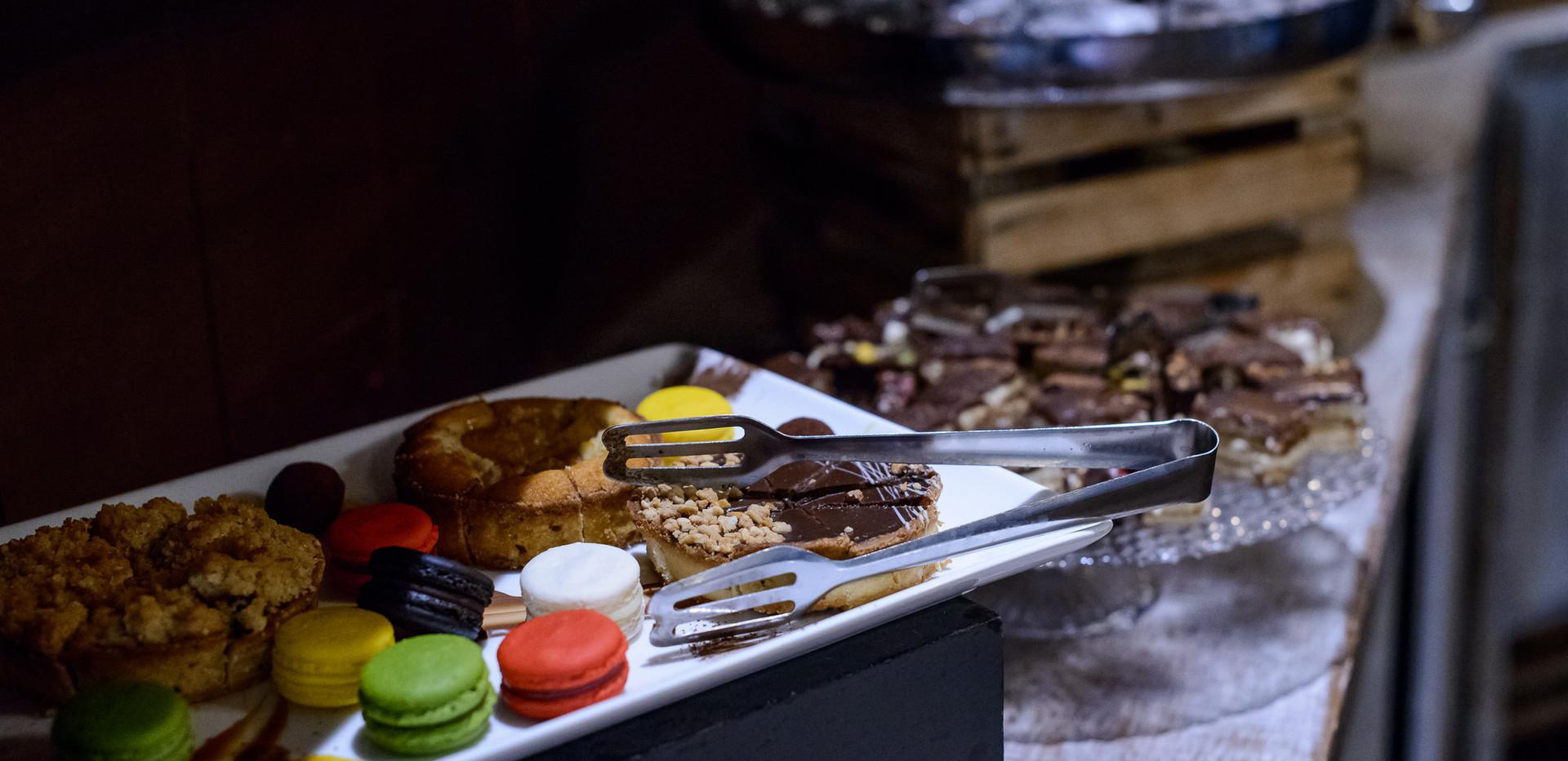 Dessert buffet at Terasa