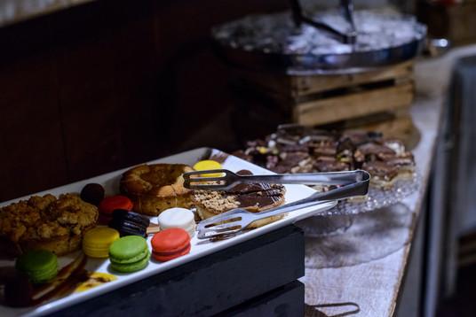 Dessert at Teresa at the Begin Center