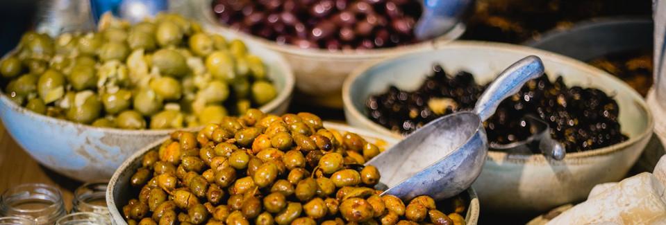 Olives, BM Brunch