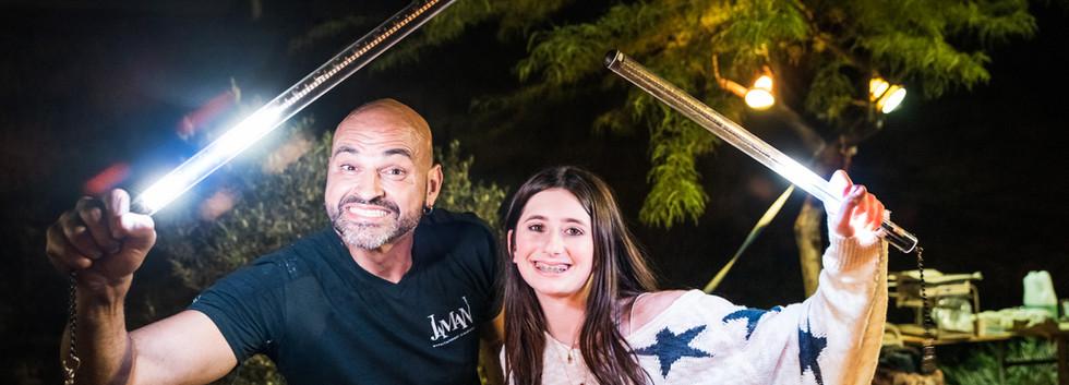 Shahar from Jaman with Bat Mitzvah girl