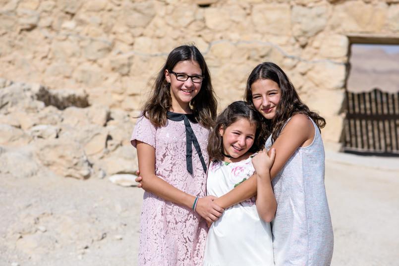 Celebrating Girls in Judean Desert