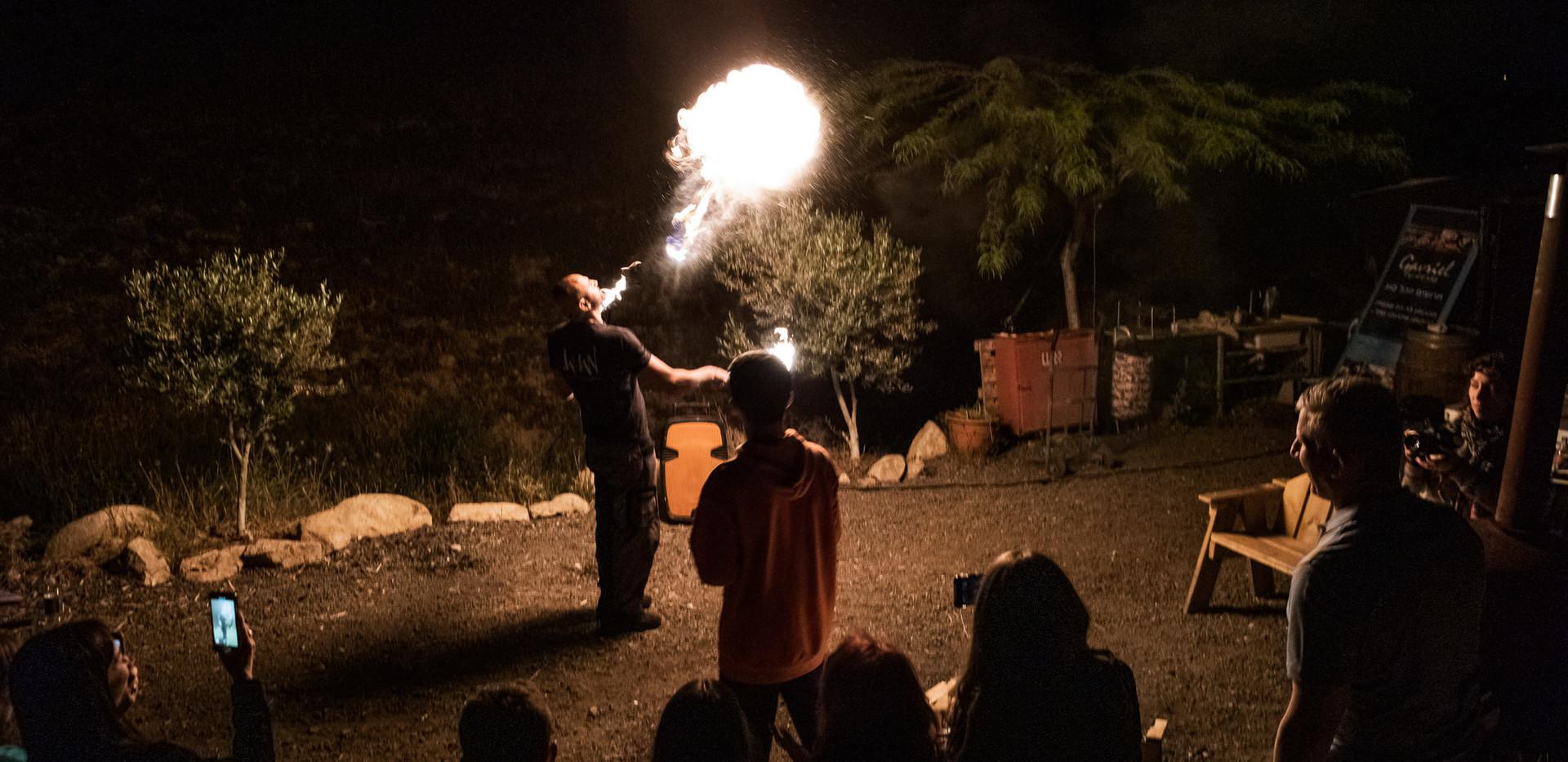 Jaman Fire Show