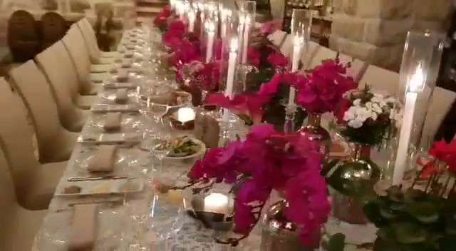 Video of an event set up at Wine Temple