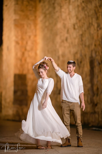 Bride & Groom at Old City Walls