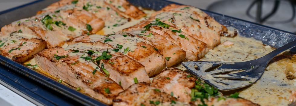 Fresh Salmon at Terasa