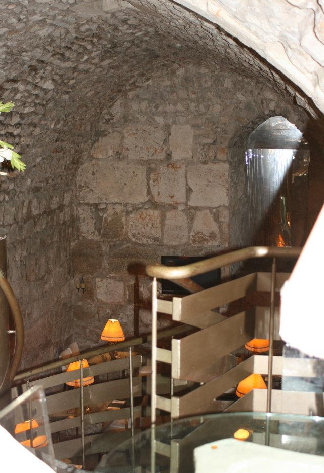 Circular Stairway down to Between the Arches
