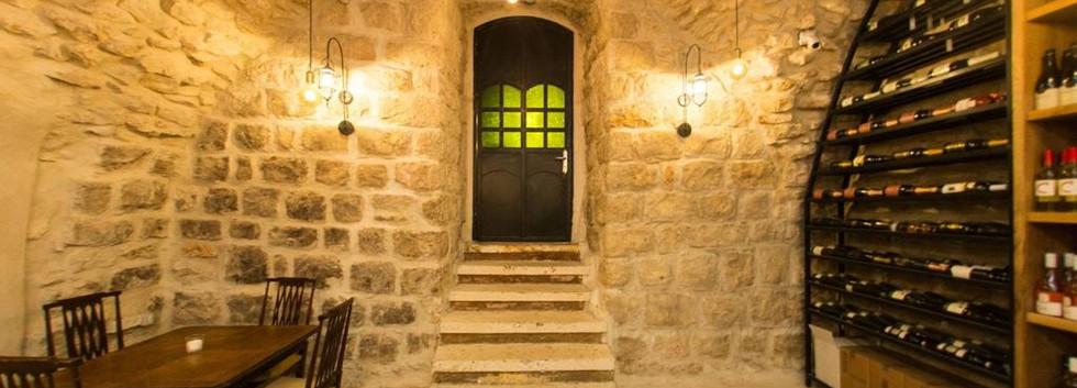 Door to VIP room at Wine Temple