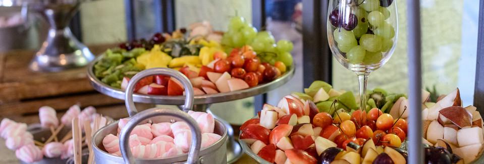 Desserts at Terasa