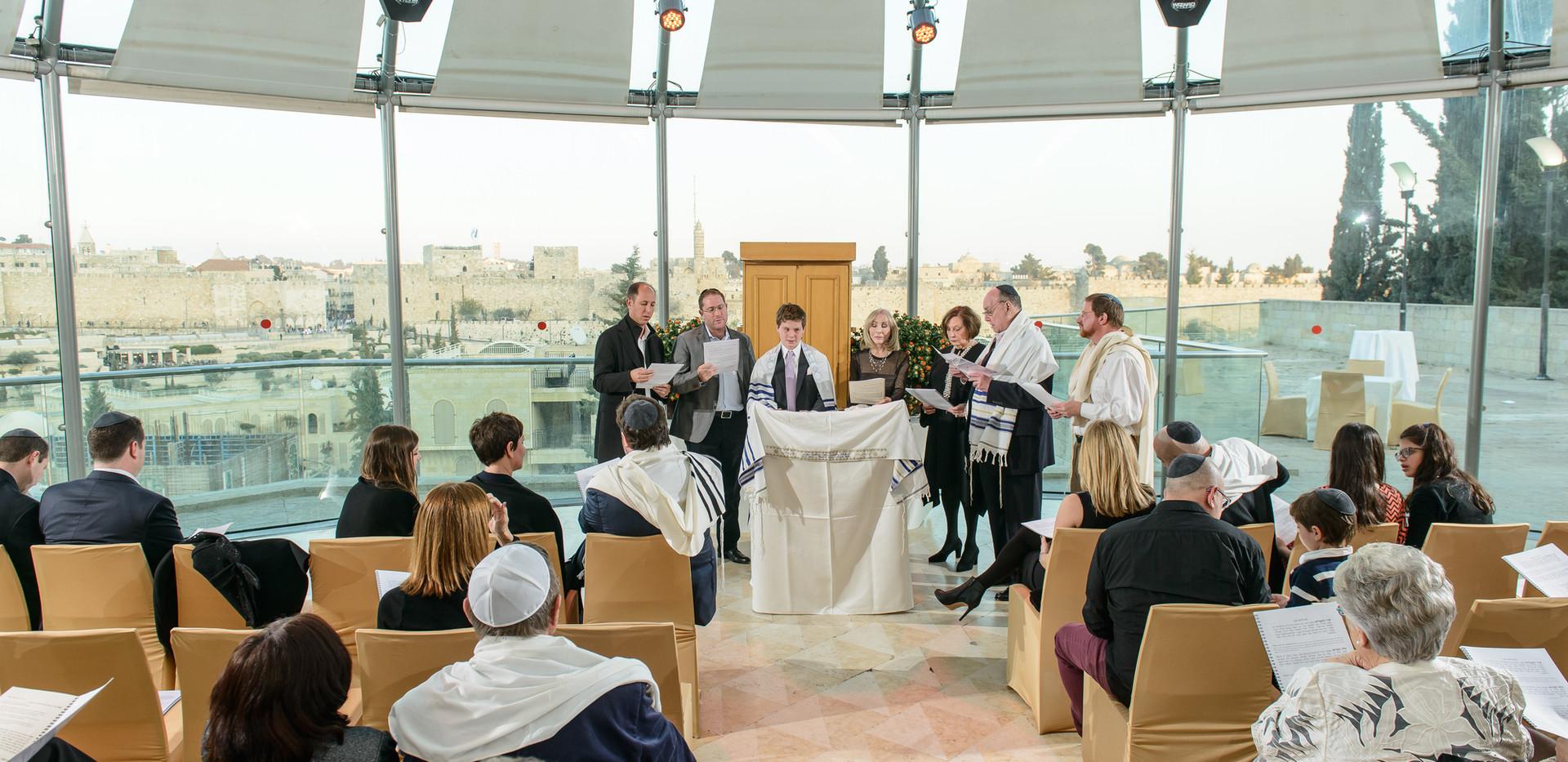 Bar Mitzvah Ceremony at Beit Shmuel