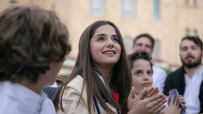 Leah's Bat Mitzvah in Israel