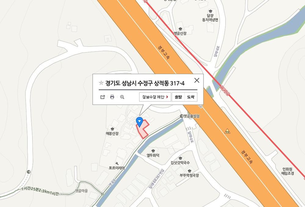 경기도 성남시 수정구 상적동 317-4 (주)대련엠티에스