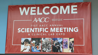 71st AACC ANNUALSCIENTIFIC MEETING& CLINICAL LAB EXPO 참가