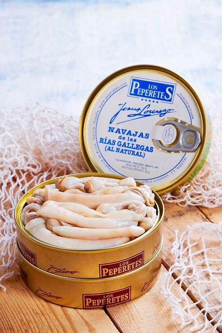 Conservas Los Peperetes (Mejores navajas en conserva de España) - GastroMadrid