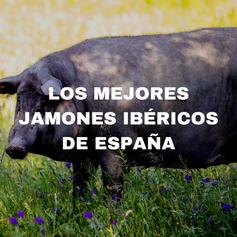 Los mejores jamones ibéricos de España