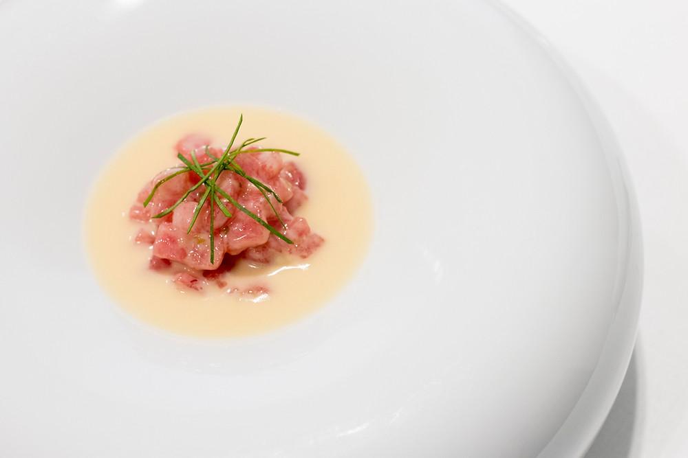 Ensalada de atún (Restaurante Mantúa) - GastroMadrid