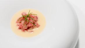 Ensalada de atún by Israel Ramos, chef de Mantúa