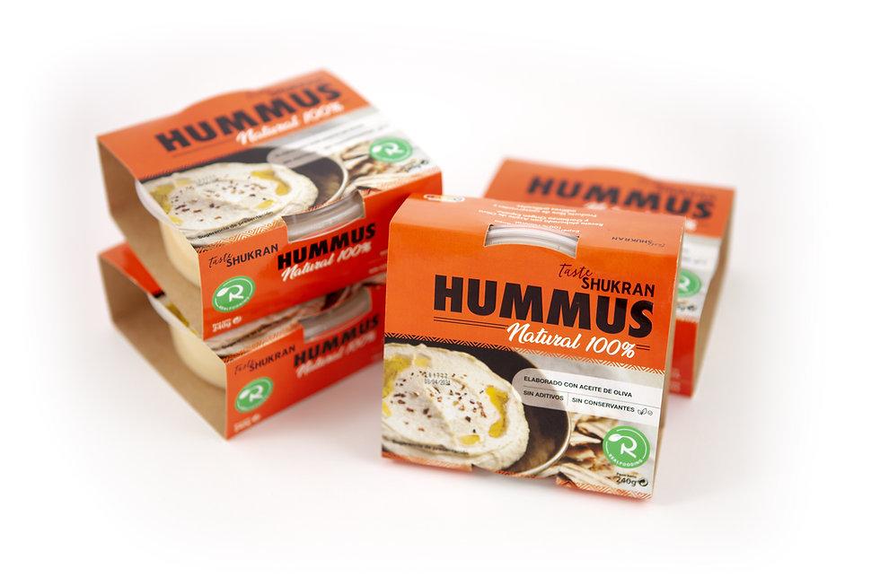 Hummus Realfooding (Fresquera) - GastroSpain