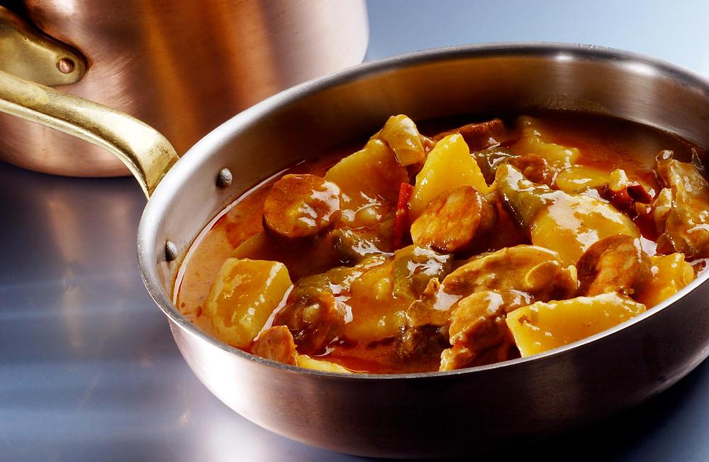 Patatas a la Riojana (Echaurren) - GastroMadrid