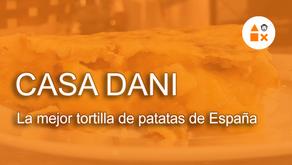 La mejor tortilla de patatas de España está en Casa Dani