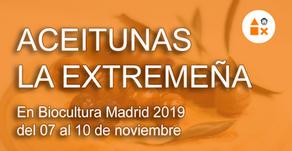 Aceitunas La Extremeña en Biocultura Madrid 2019 del 07 al 10 de noviembre